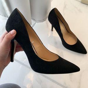Pointy Toe Black Heels